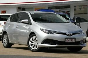 2016 Toyota Corolla ZRE182R Ascent S-CVT Silver 7 Speed Constant Variable Hatchback Woolloongabba Brisbane South West Preview