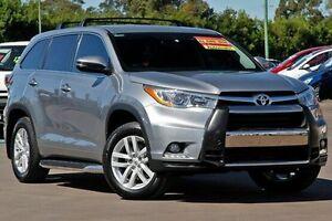 2014 Toyota Kluger GSU55R GX AWD Grey 6 Speed Sports Automatic Wagon McGraths Hill Hawkesbury Area Preview