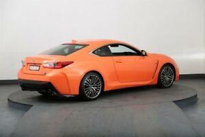 2014 Lexus RC F VSC10R Orange 8 Speed Automatic Coupe