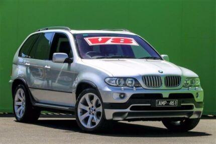 2004 BMW X5 E53 MY04 is Steptronic Silver 6 Speed Sports Automatic Wagon
