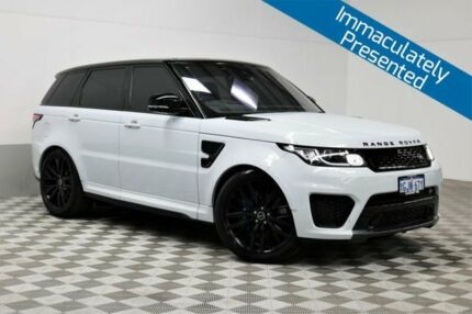 2016 Land Rover Range Rover LW MY16.5 Sport SC SVR White 8 Speed Automatic Wagon