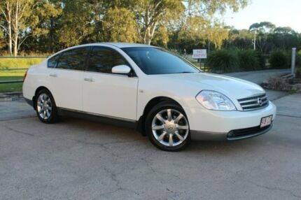 2005 Nissan Maxima J31 MY05 ST-L White 4 Speed Automatic Sedan Capalaba West Brisbane South East Preview