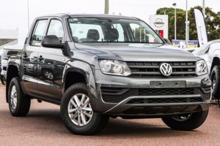 2017 Volkswagen Amarok 2H MY17 TDI420 4MOTION Perm Core Grey 8 Speed Automatic Utility