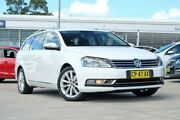 2014 Volkswagen Passat Type 3C MY15 130TDI DSG Highline White 6 Speed Sports Automatic Dual Clutch Baulkham Hills The Hills District Preview