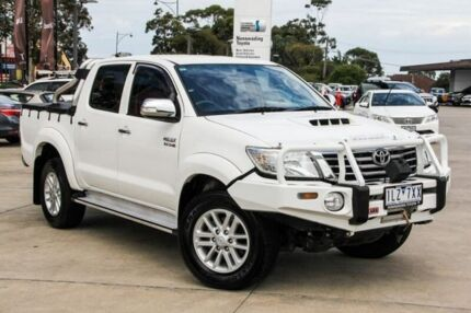 2013 Toyota Hilux White Automatic Utility