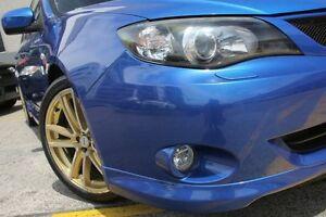 2007 Subaru Impreza MY08 WRX (AWD) Blue 5 Speed Manual Hatchback Wolli Creek Rockdale Area Preview