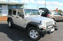 2008 Jeep Wrangler JK MY2008 Unlimited Sport Silver 5 Speed Automatic Softtop Tingalpa Brisbane South East Preview