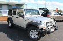 2008 Jeep Wrangler JK MY2008 Unlimited Sport Silver 5 Speed Automatic Softtop Wynnum West Brisbane South East Preview