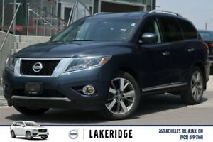 2014 Nissan Pathfinder PLATINUM / NAVI / BACK-UP CAMERA