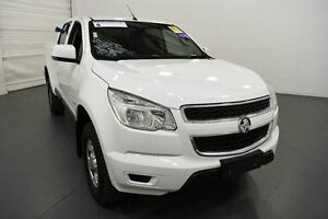 2014 Holden Colorado RG MY14 LT Crew Cab White Sports Automatic Utility Moorabbin Kingston Area Preview