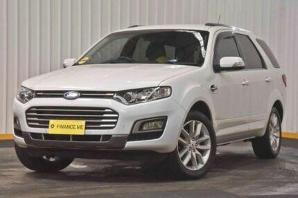 2015 Ford Territory SZ MkII TS Seq Sport Shift White 6 Speed Sports Automatic Wagon Hendra Brisbane North East Preview
