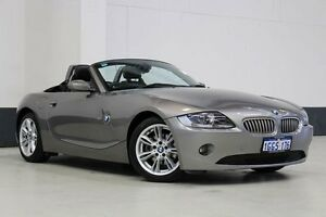 2006 BMW Z4 E85 3.0I Grey 5 Speed Auto Steptronic Roadster Bentley Canning Area Preview
