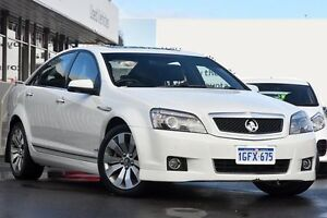 2011 Holden Caprice WM II V White 6 Speed Auto Active Sequential Sedan Glendalough Stirling Area Preview