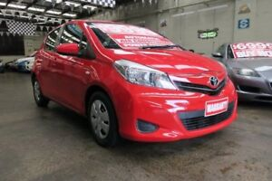 2013 Toyota Yaris NCP130R YR 4 Speed Automatic Hatchback Mordialloc Kingston Area Preview