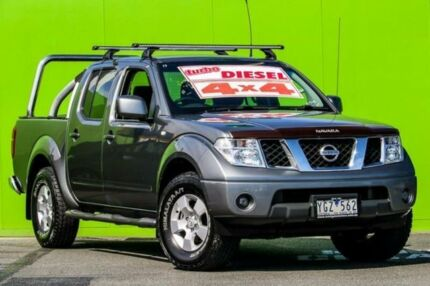 2010 Nissan Navara D40 ST Grey 5 Speed Automatic Utility Ringwood East Maroondah Area Preview