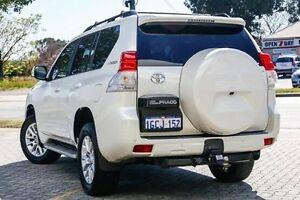 2010 Toyota Landcruiser Prado White Sports Automatic Wagon St James Victoria Park Area Preview