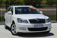 2011 Skoda Octavia 1Z MY11 103TDI DSG Candy White 6 Speed Sports Automatic Dual Clutch Wagon Pearce Woden Valley Preview