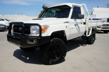 2007 Toyota Landcruiser VDJ79R Workmate White 5 Speed Manual Cab Chassis Dandenong Greater Dandenong Preview