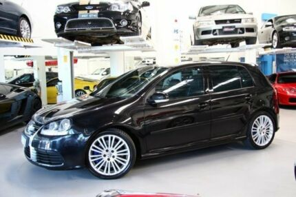 2007 Volkswagen Golf V MY07 R32 DSG 4MOTION Black 6 Speed Sports Automatic Dual Clutch Hatchback Beckenham Gosnells Area Preview
