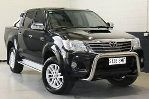 2013 Toyota Hilux Black Automatic Utility Hillcrest Port Adelaide Area Preview