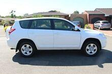 2012 Toyota RAV4 ACA38R MY12 CV 4x2 White 4 Speed Automatic Wagon Nailsworth Prospect Area Preview
