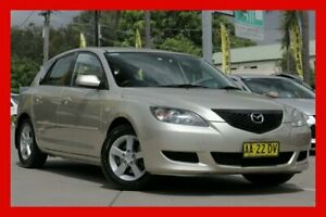 2004 Mazda 3 BK10F1 Neo Gold 4 Speed Sports Automatic Hatchback
