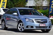 2010 Holden Cruze JG CDX Ice Blue 6 Speed Sports Automatic Sedan Southport Gold Coast City Preview