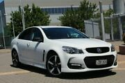 2016 Holden Commodore VF II MY16 SV6 Black White 6 Speed Sports Automatic Sedan Wayville Unley Area Preview