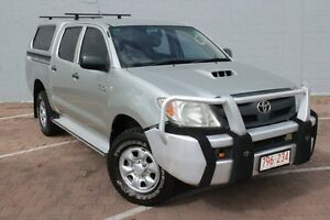 2007 Toyota Hilux KUN26R MY08 SR Sterling Silver 4 Speed Automatic Utility The Gardens Darwin City Preview