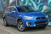 2015 Mitsubishi ASX XB MY15.5 LS 2WD Blue 6 Speed Constant Variable Wagon Wayville Unley Area Preview