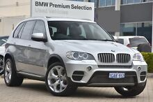 2012 BMW X5 E70 MY12 xDrive40d Steptronic Sport Silver 8 Speed Sports Automatic Wagon Victoria Park Victoria Park Area Preview