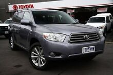 2009 Toyota Kluger  Blue Sports Automatic Wagon Cranbourne Casey Area Preview