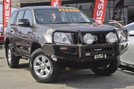 2012 Toyota Landcruiser Prado KDJ150R GX Grey 5 Speed Sports Automatic Wagon