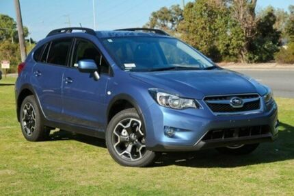 2015 Subaru XV G4-X MY15 2.0i-L Lineartronic AWD Blue 6 Speed Constant Variable Wagon Capalaba West Brisbane South East Preview