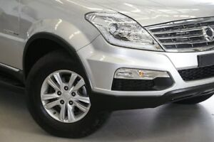 2016 Ssangyong Rexton Y285 II MY14 SX Fine Silver 5 Speed Sports Automatic Wagon
