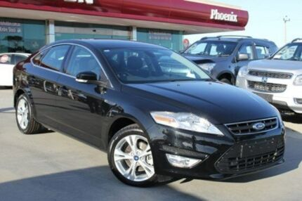 2013 Ford Mondeo MC Zetec PwrShift EcoBoost Panther Black 6 Speed Sports Automatic Dual Clutch Hatch Wangara Wanneroo Area Preview