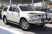 2014 Holden Colorado RG MY15 LTZ Crew Cab White 6 Speed Sports Automatic Utility Osborne Park Stirling Area Preview