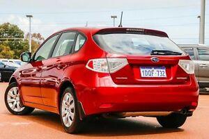 2011 Subaru Impreza G3 MY11 R AWD Red 4 Speed Sports Automatic Hatchback Wangara Wanneroo Area Preview