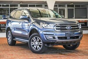 2019 Ford Everest UA II 2019.00MY Trend 4WD Blue 6 Speed Sports Automatic Wagon