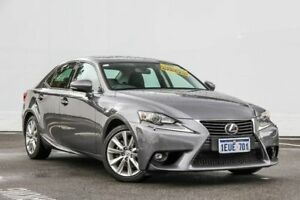 2015 Lexus IS250 GSE30R Luxury Grey 6 Speed Sports Automatic Sedan