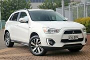 2014 Mitsubishi ASX XB MY15 LS White 6 Speed Sports Automatic Wagon Wayville Unley Area Preview