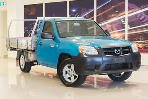 2010 Mazda BT-50 UNY0W4 DX Green 5 Speed Manual Cab Chassis Blacktown Blacktown Area Preview