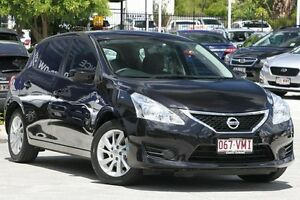 2014 Nissan Pulsar C12 ST Black 1 Speed Constant Variable Hatchback Toowong Brisbane North West Preview