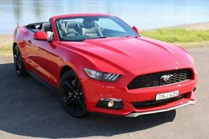 2016 Ford Mustang FM SelectShift Red 6 Speed Sports Automatic Convertible Hamilton East Newcastle Area Preview