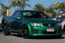 2010 Holden Ute VE MY10 SV6 Green 6 Speed Manual Utility Kippa-ring Redcliffe Area Preview