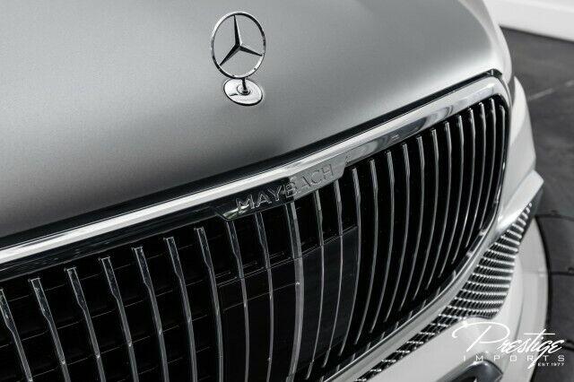 2021 Mercedes-Benz GLS Maybach GLS 600 SUV 4.0L 8-Cyl Engine Automatic Polar Whi