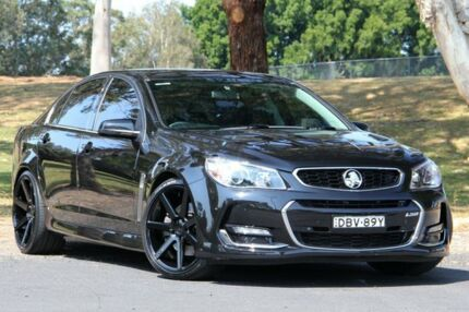 2015 Holden Commodore VF II MY16 SS V Black 6 Speed Manual Sedan West Gosford Gosford Area Preview