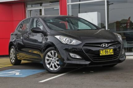 2013 Hyundai i30 GD Active Black 6 Speed Sports Automatic Hatchback Sutherland Sutherland Area Preview