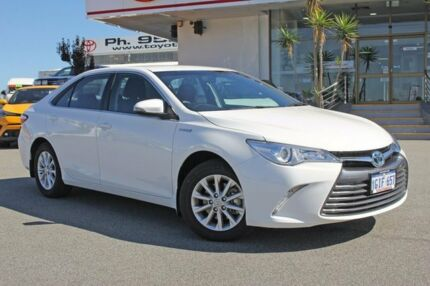 2016 Toyota Camry AVV50R Altise Hybrid Diamond White 1 Speed Constant Variable Sedan