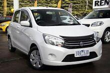 2014 Suzuki Celerio  White Constant Variable Hatchback Croydon Maroondah Area Preview